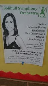 Carla F Boix Solihull Symphony Orchestra Tchaikovsky